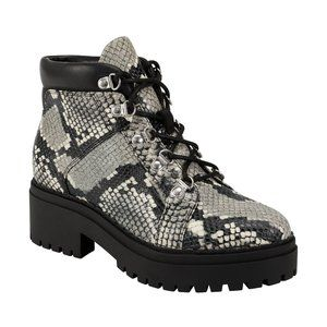 """Marc Fisher chukka ankle boots """"Nula"""" 10 snake"""